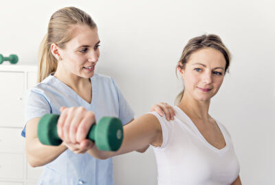 physical therapy - a natural and easy solution to shoulder pain